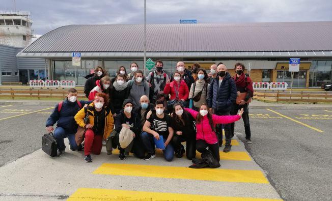 SAGA10W scientific cruise on arrival to Punta Arenas