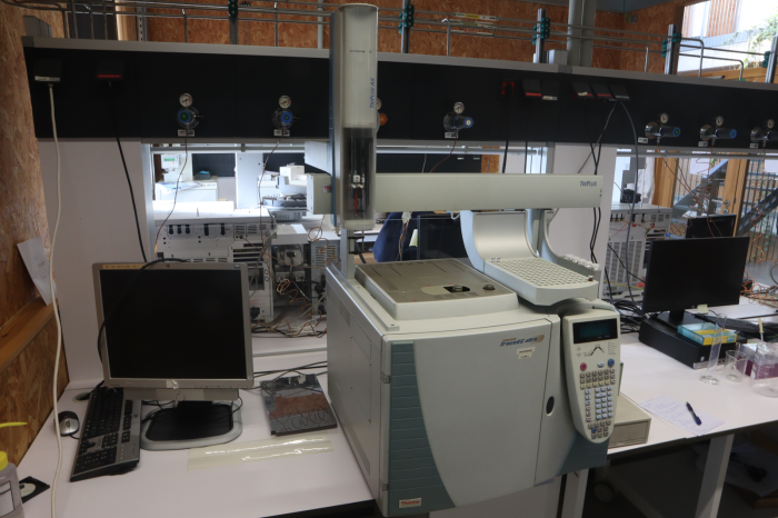 GC-FID Thermo Finnigan Trace GC Ultra with autosampler