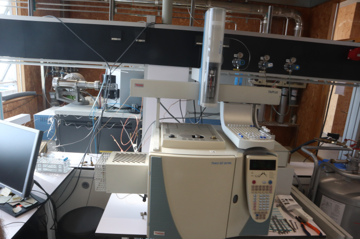 GC-MS Thermo (ISQ7000) with autosampler