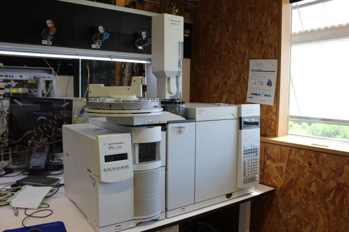 GC-MS Agilent (model GC7890 – MS5975) with autosampler