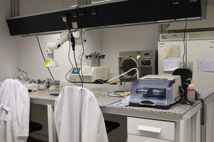 Sedimentology lab