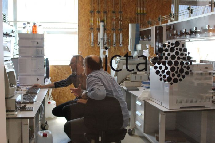Chromatography-mass spectrometry lab