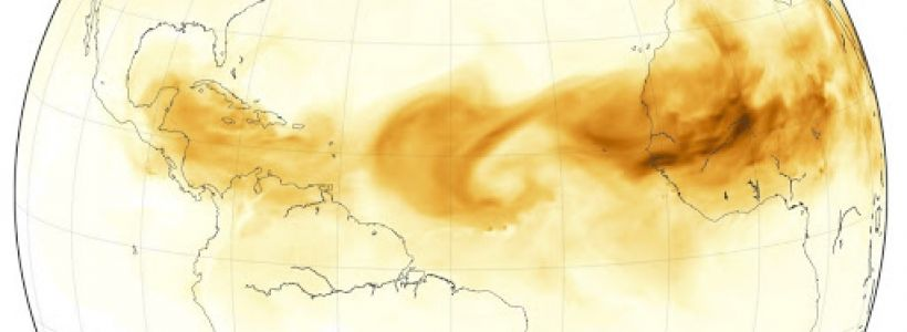 Analysis of tropical fire soot deposited in the ocean will help predict future global climate changes